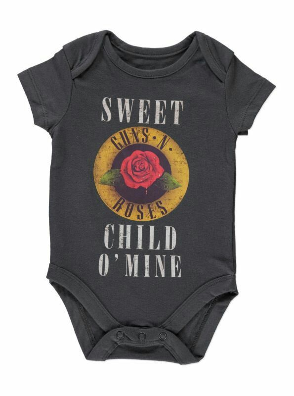 The Rolling Stones Cute Onesie Bodysuit Shirt Outfit
