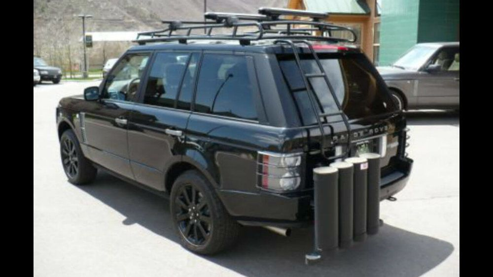 Land Rover Range Rover Mk3 L322 Rear Access Ladder Voyager Racks Land Rover Range Rover Range