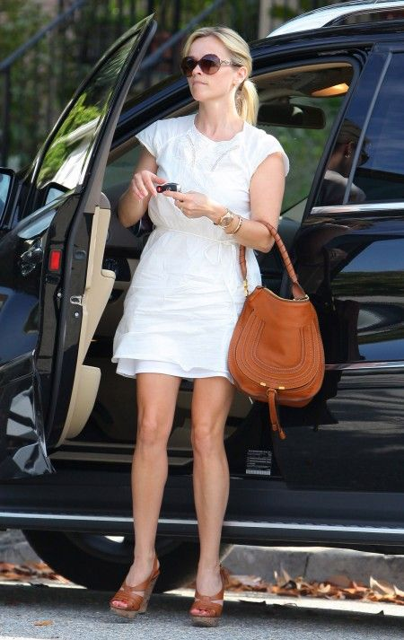 white dress Reese Witherspoon Movie Star
