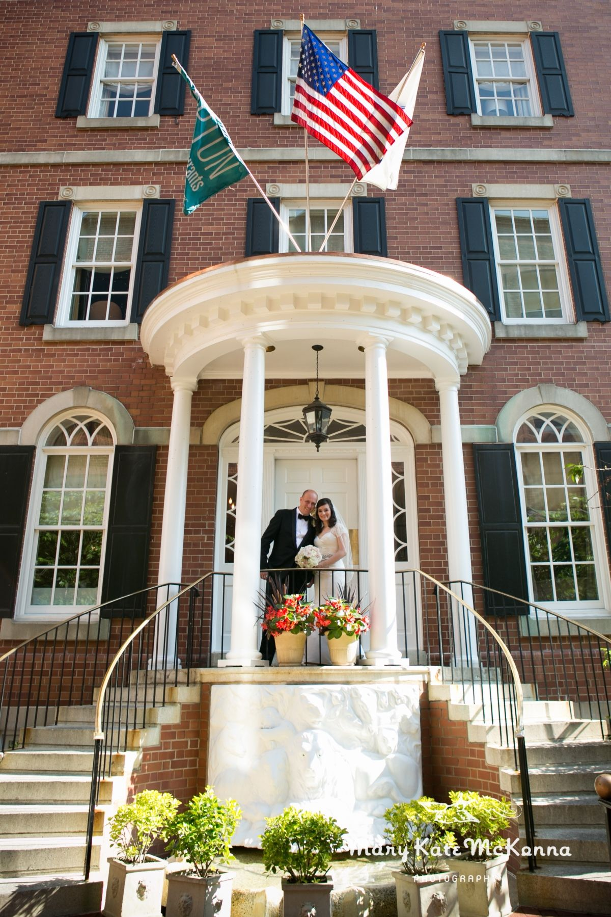 Roxana patrick intimate wedding at morrison house for Carters in alexandria va