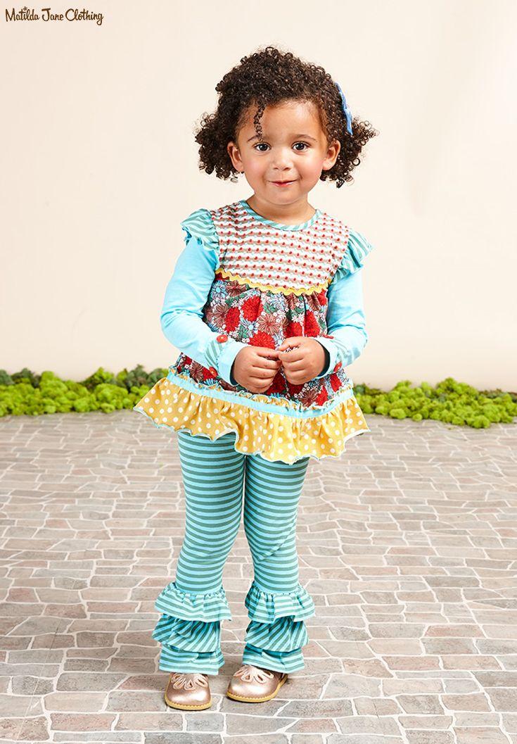 NWT Matilda Jane Size 6 Outfit Bon Bon Bennys //Chocolaty Goodness Ethel Top