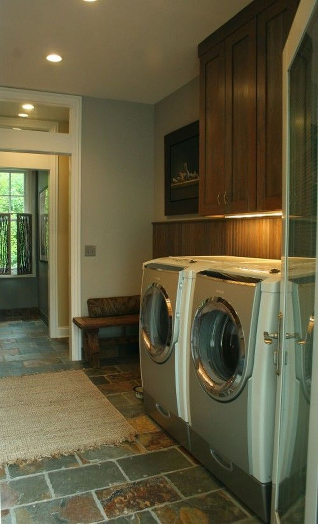 30+ Modern Tile Design Ideas For Your Laundry Room (With