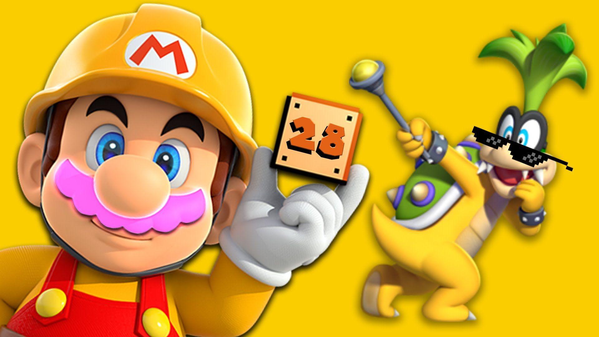 CASTLE OF GLITCHES   Mario Maker #28