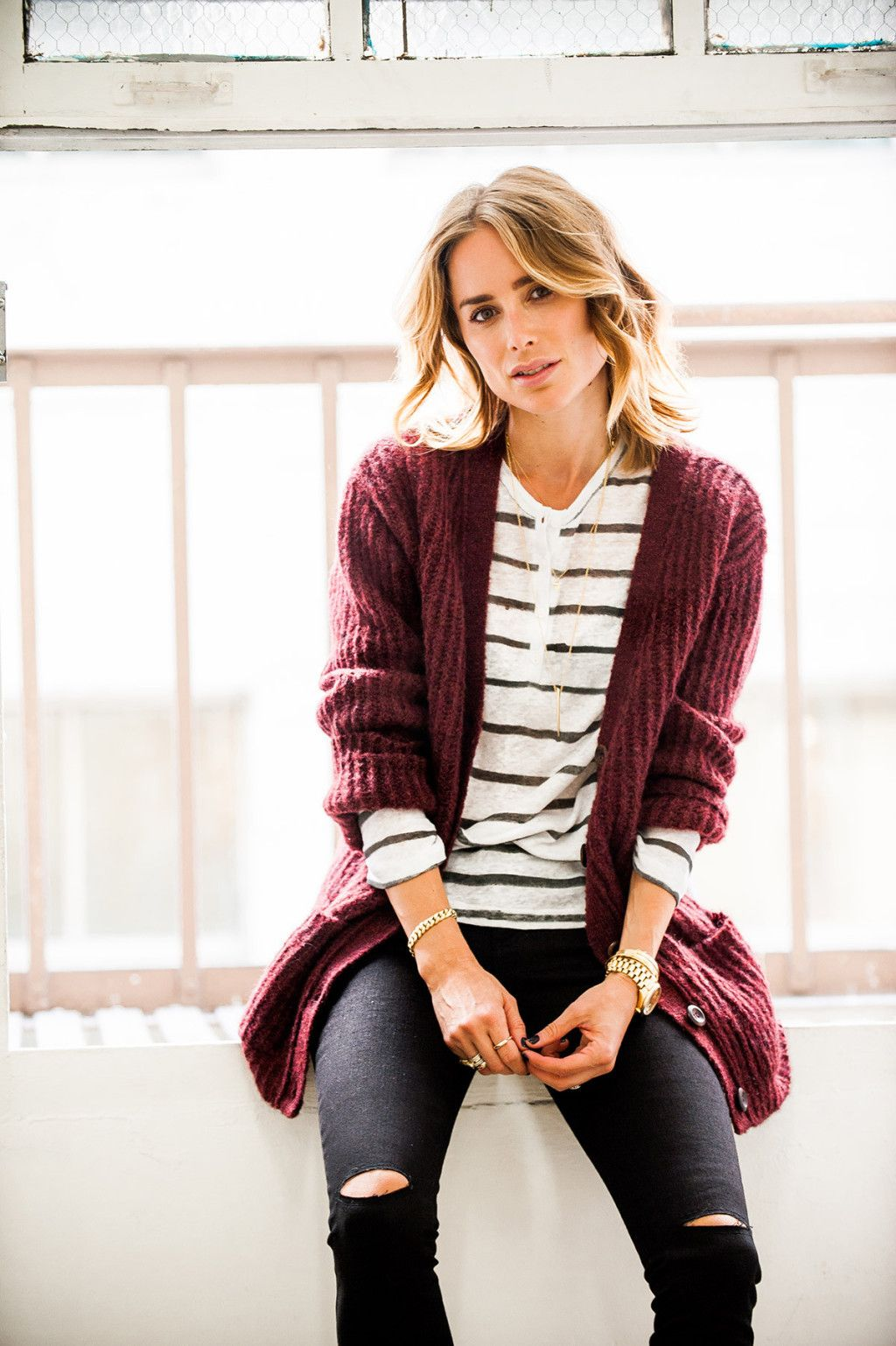 Knits are such a fall thing!