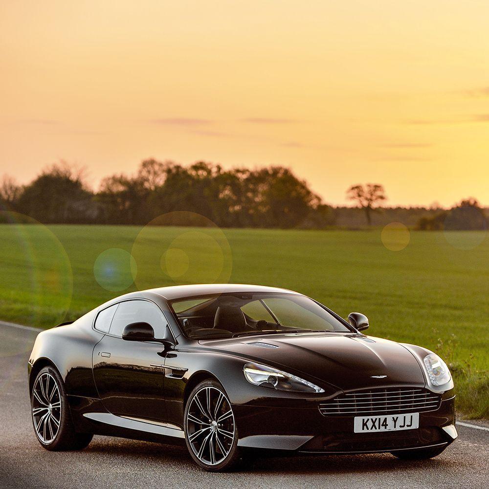 The Aston Martin DB9 Carbon Edition
