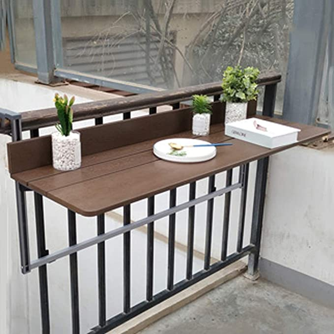 21++ Balcony railing table info