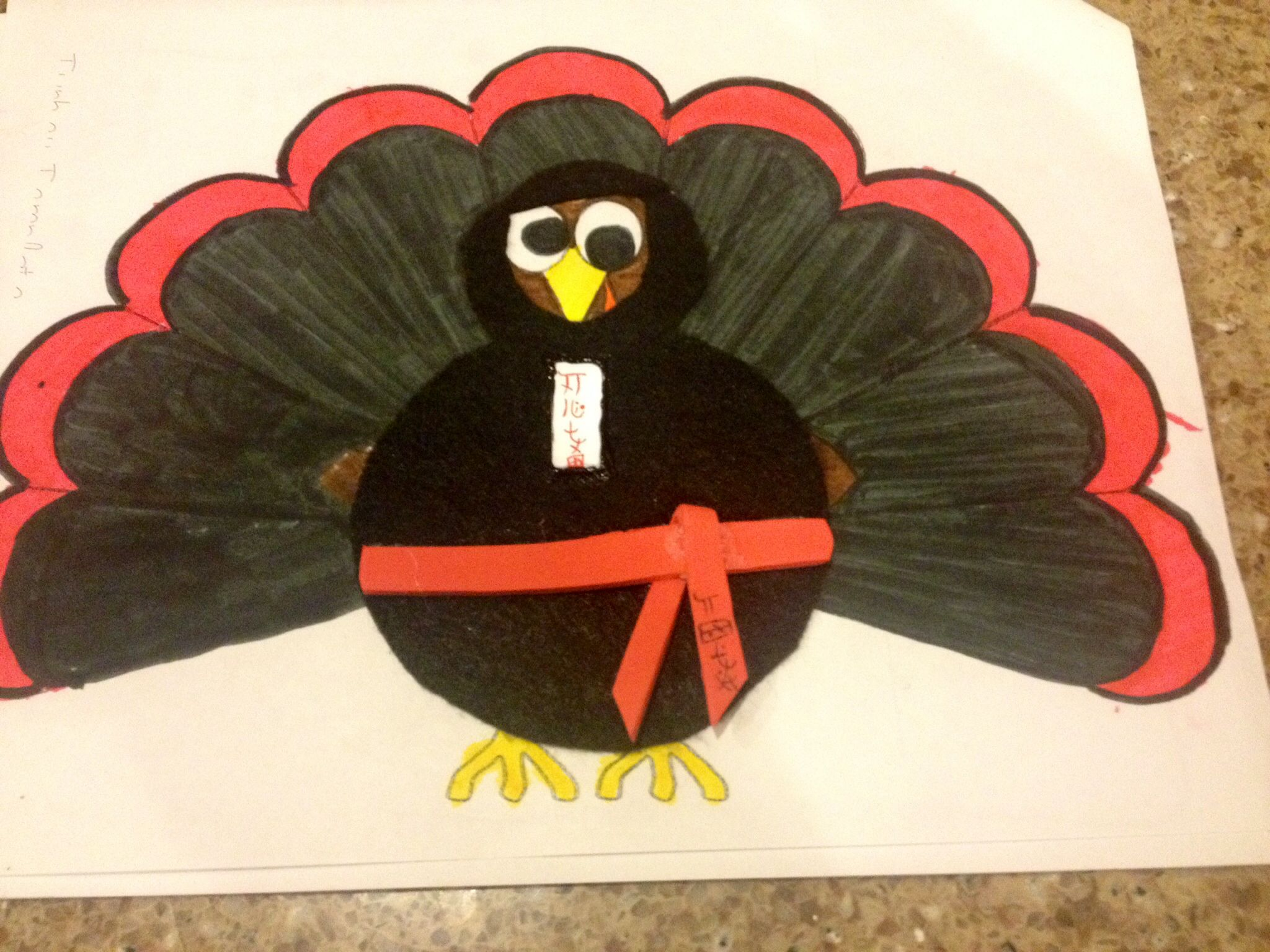 Disguise My Turkey Ninja Made This With My Favorite Lil Guy