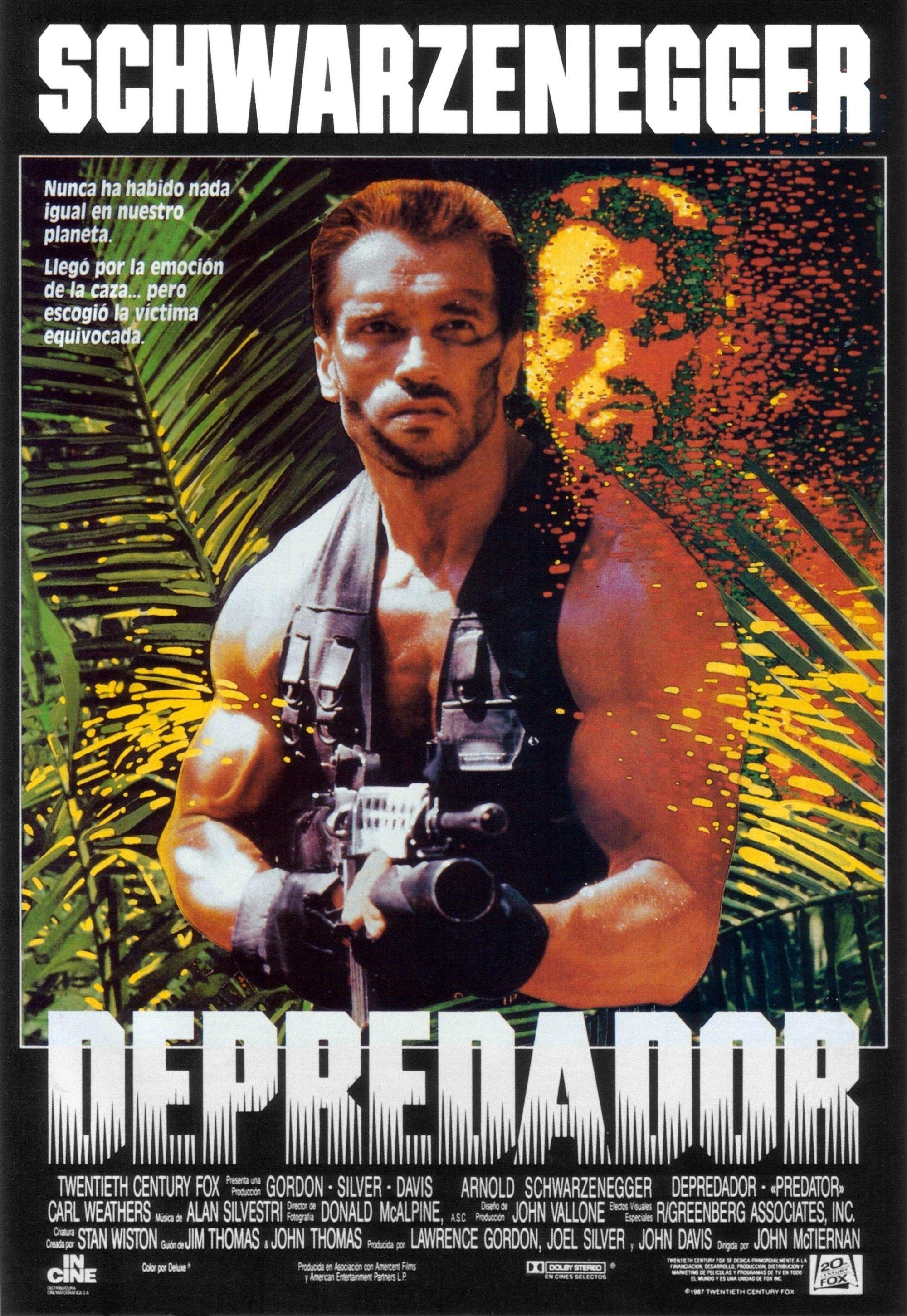 Predator 1987 Glorious Movie Posters Pinterest Movies Short Circuit 27x40 Poster 1986 80s Art Action