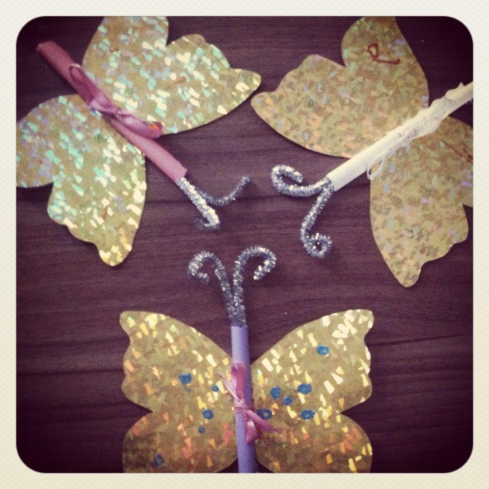 Einladungskarten Schmetterling Zum 4. Geburtstag.