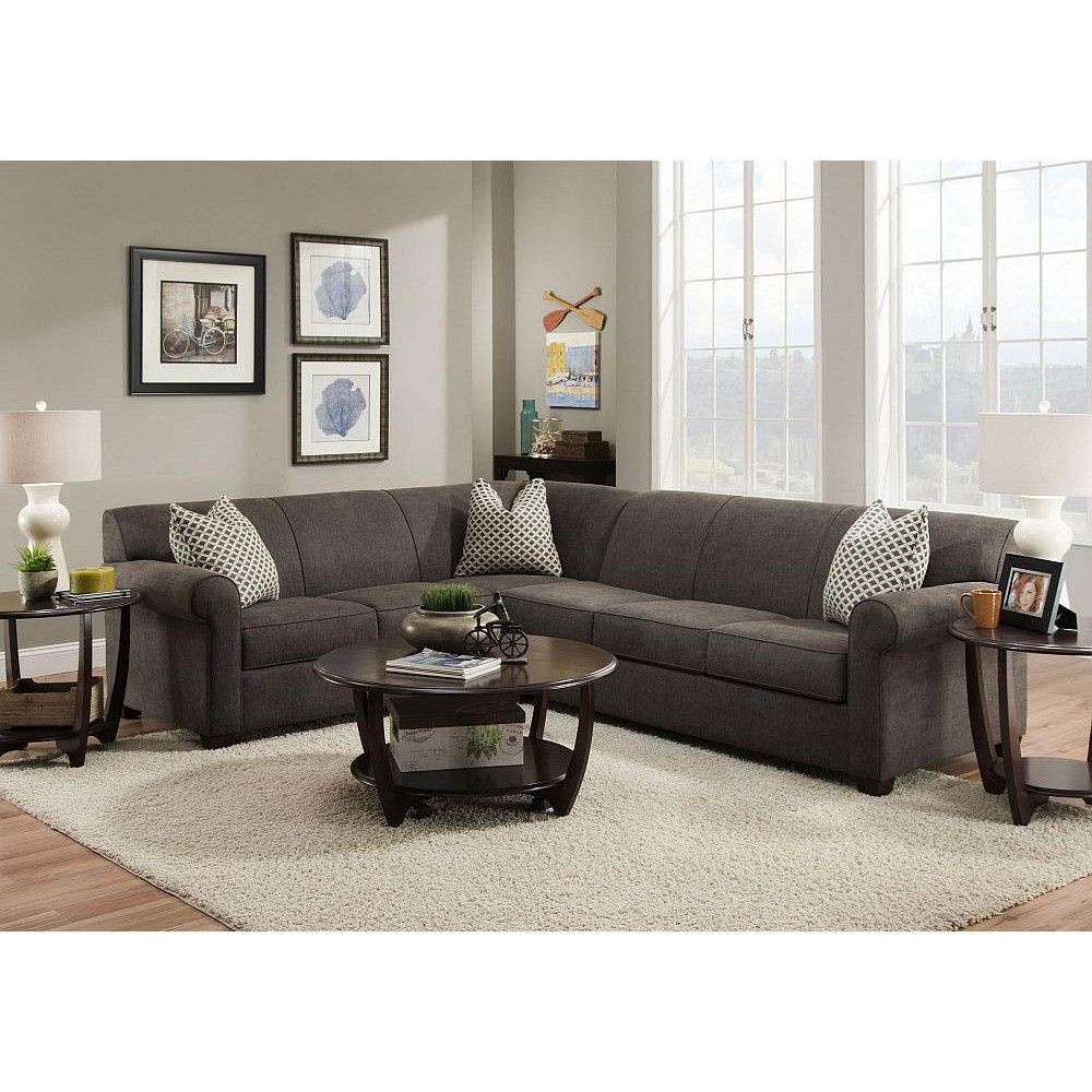 Aria Sectional | Interiors | Sectional sofa, Sectional sofa ...