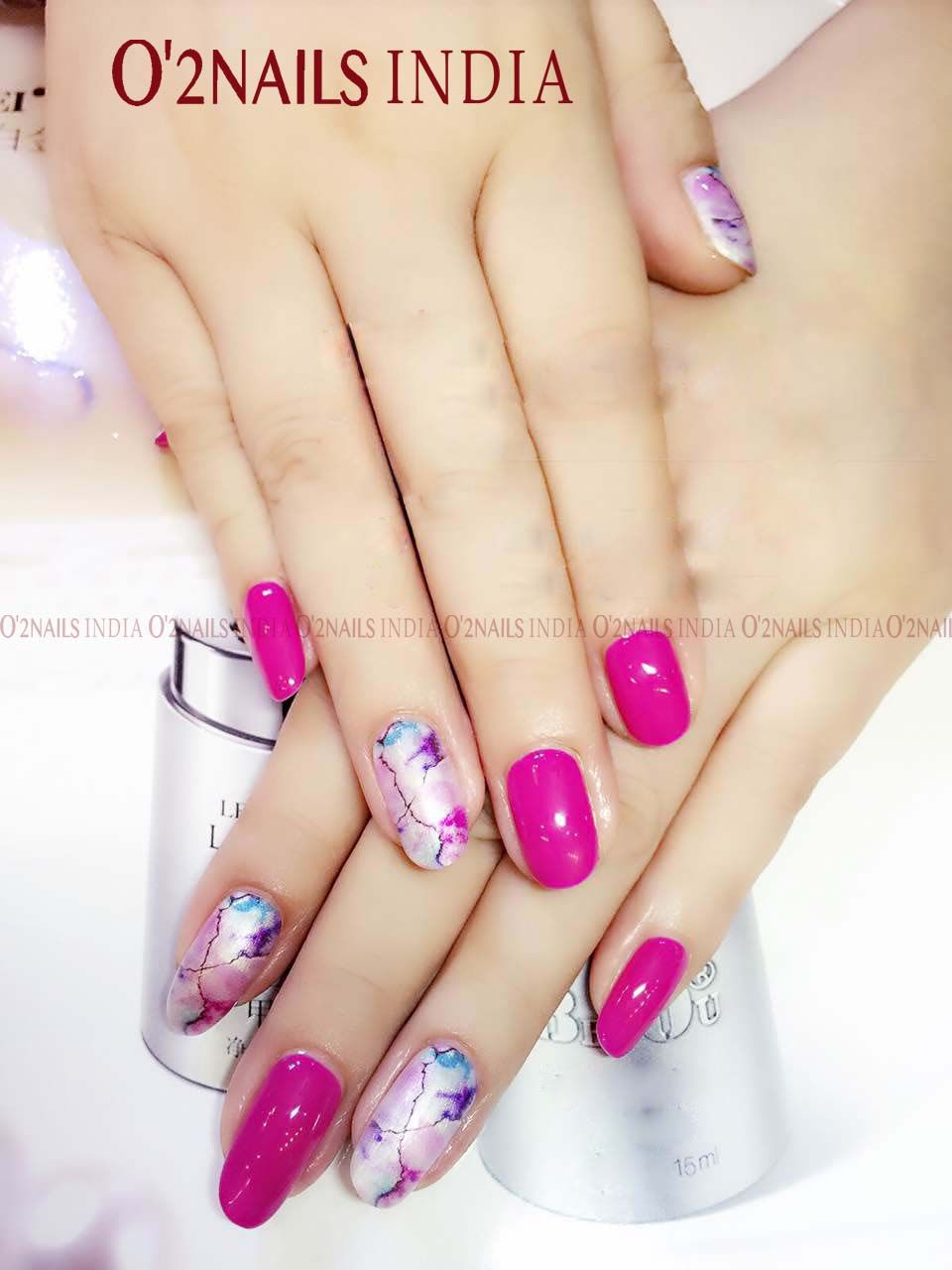 Pink nails always look stylish and trendy, no matter if is winter or ...