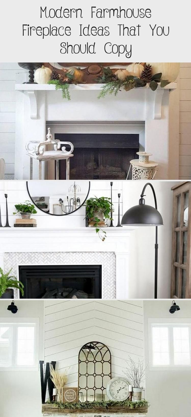 Modern Farmhouse Fireplace Ideas That You Should Copy