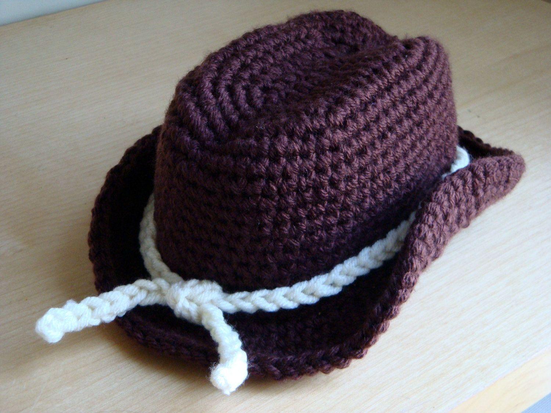 cowboy hat crochet sombrero vaquero pattern # 4