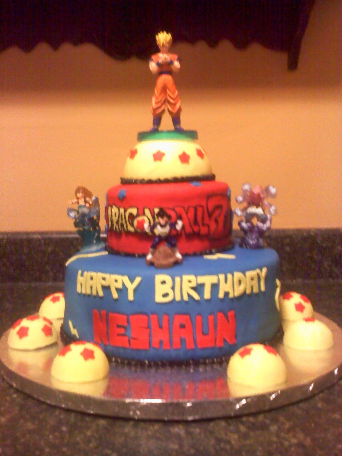 Dragon Ball Z Cake Decorations Pinmichelle Morgan Of Bombshell Craftations On Dbz Party