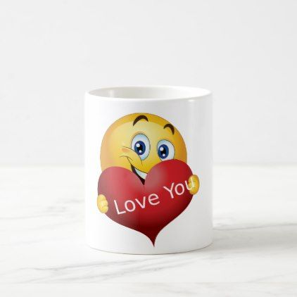 Valentine Emoji Coffee Mug Home Gifts Emoji Red Gifts Office Gifts