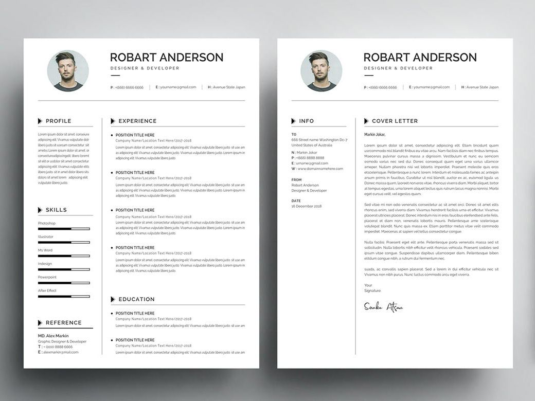 Free Fresh Graduate Resume Template Cover Letter Cover Letter For Resume Resume Template Resume Design Free