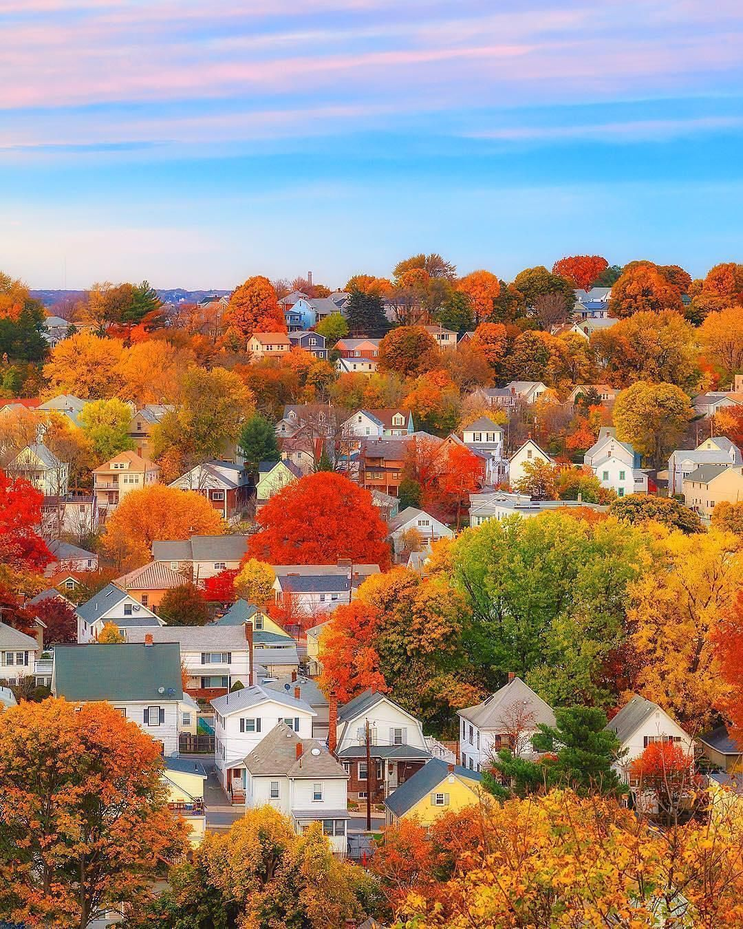 Massachusetts, USA ???????? Photo credit #autumnscenery