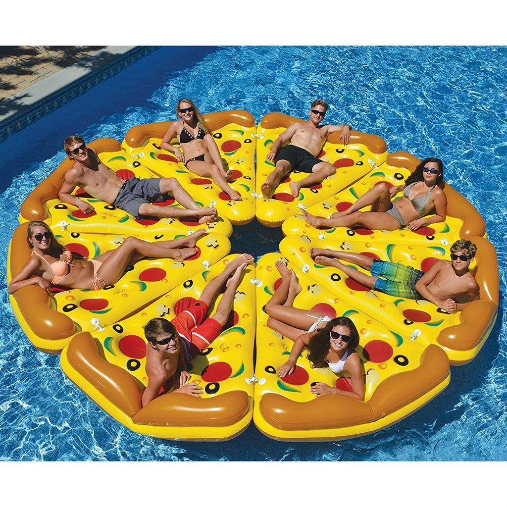 Poolzubehör Fun Giant Inflatable Pizza Slices In 2019 Awesome Cool Pool Floats