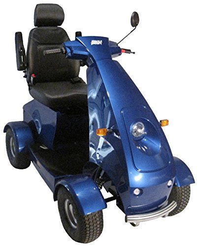 Mobility Scooters Afikim - Afiscooter C4 Breeze - Mid Size Mobility Scooter - 4-Wheel - Metallic Silver - PHILLIPS POWER PACKAGE TM - TO $500 VALUE -- This is an Amazon Associate's Pin. Click the VISIT button to enter the Amazon website.