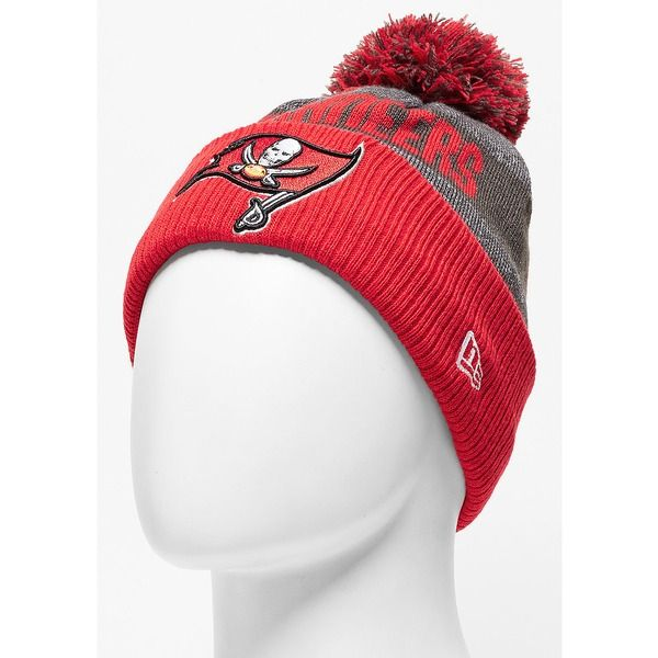 New Era Beanie Sideline Bobble Knit NFL Tampa Bay Buccaneers official 48b92b8c105