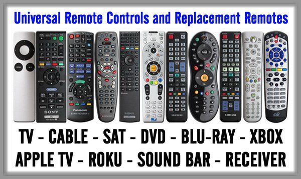 Universal Remote Controls And Replacement Remotes Diy
