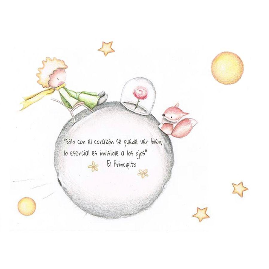 Principito | Ideas de inspiración | Pinterest | Mural infantil ...