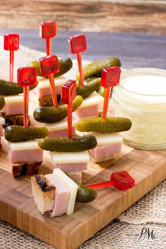 Cuban Sandwich on a Stick Appetizer | Recipe | Cuban ...