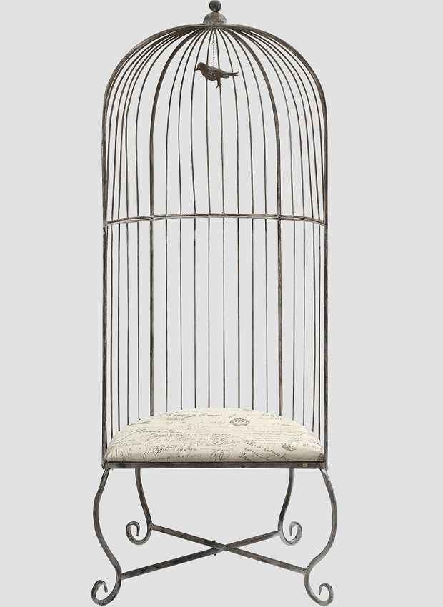Nice Birdcage Shaped Accent Chair