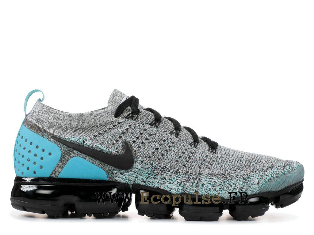 finest selection 5f412 44311 Nike Air VaporMax Flyknit 2.0 Chaussures Nike 2018 Pas Cher Pour Homme Bleu  Noir 942842-