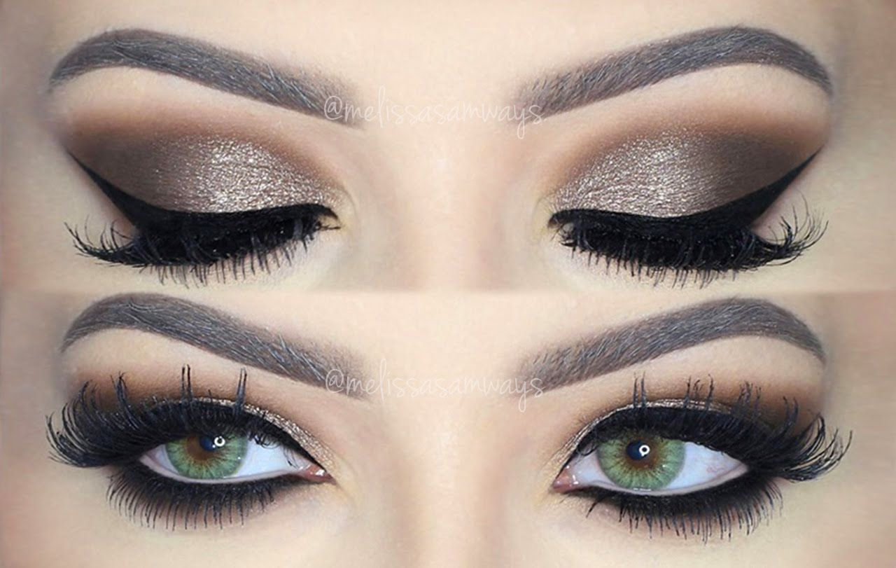 dramatic eye makeup dramatic brown smokey eye makeup tutorial 30387