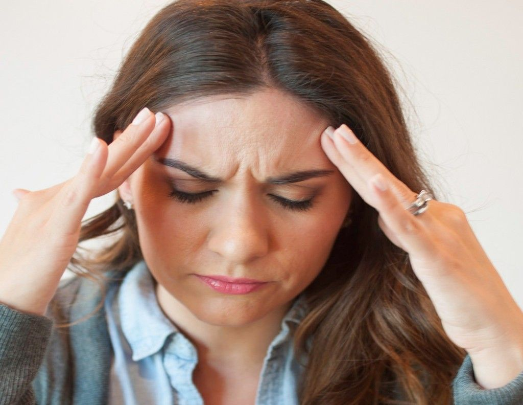 Headache On Top Of Head