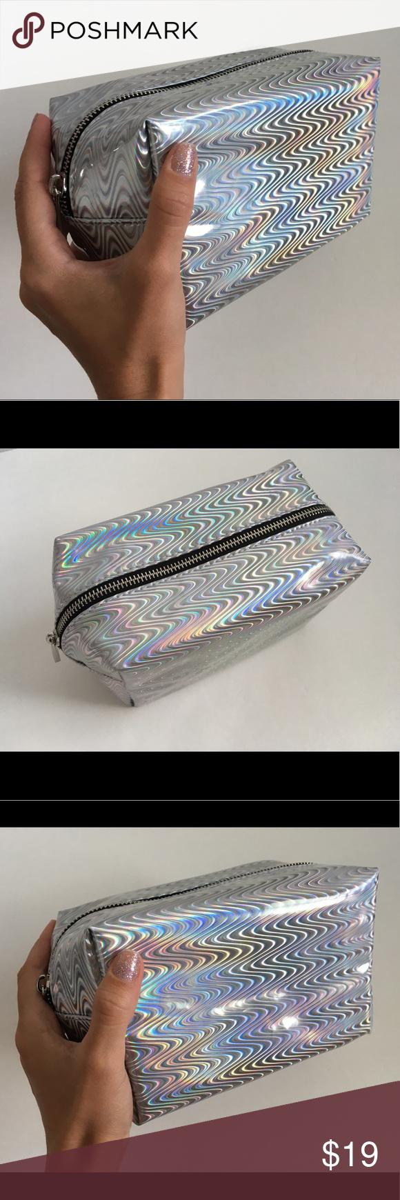 Hologram Holographic Iridescent Makeup Bag Hologram Makeup