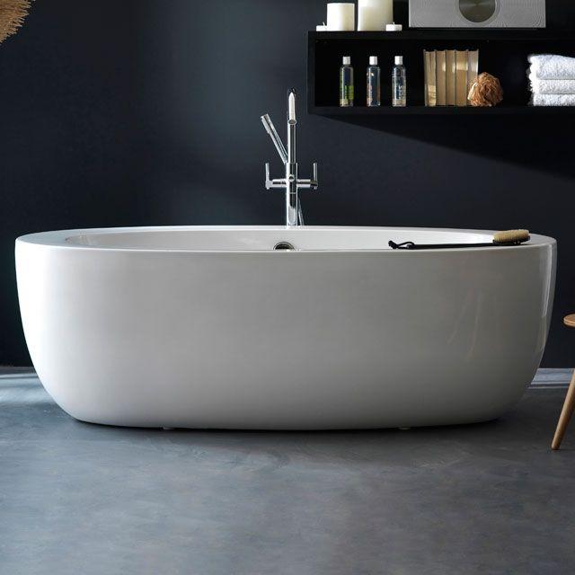 baignoire 175 x 85 cm form eden pinterest castorama baignoires et ilot. Black Bedroom Furniture Sets. Home Design Ideas