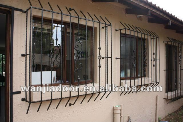 Window Bars Iron Works Security Door Window Security