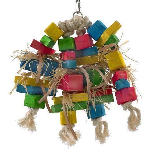 3 4 In Octagon Bird Toys : Pin by maki im on pet supplies pinterest bird toys