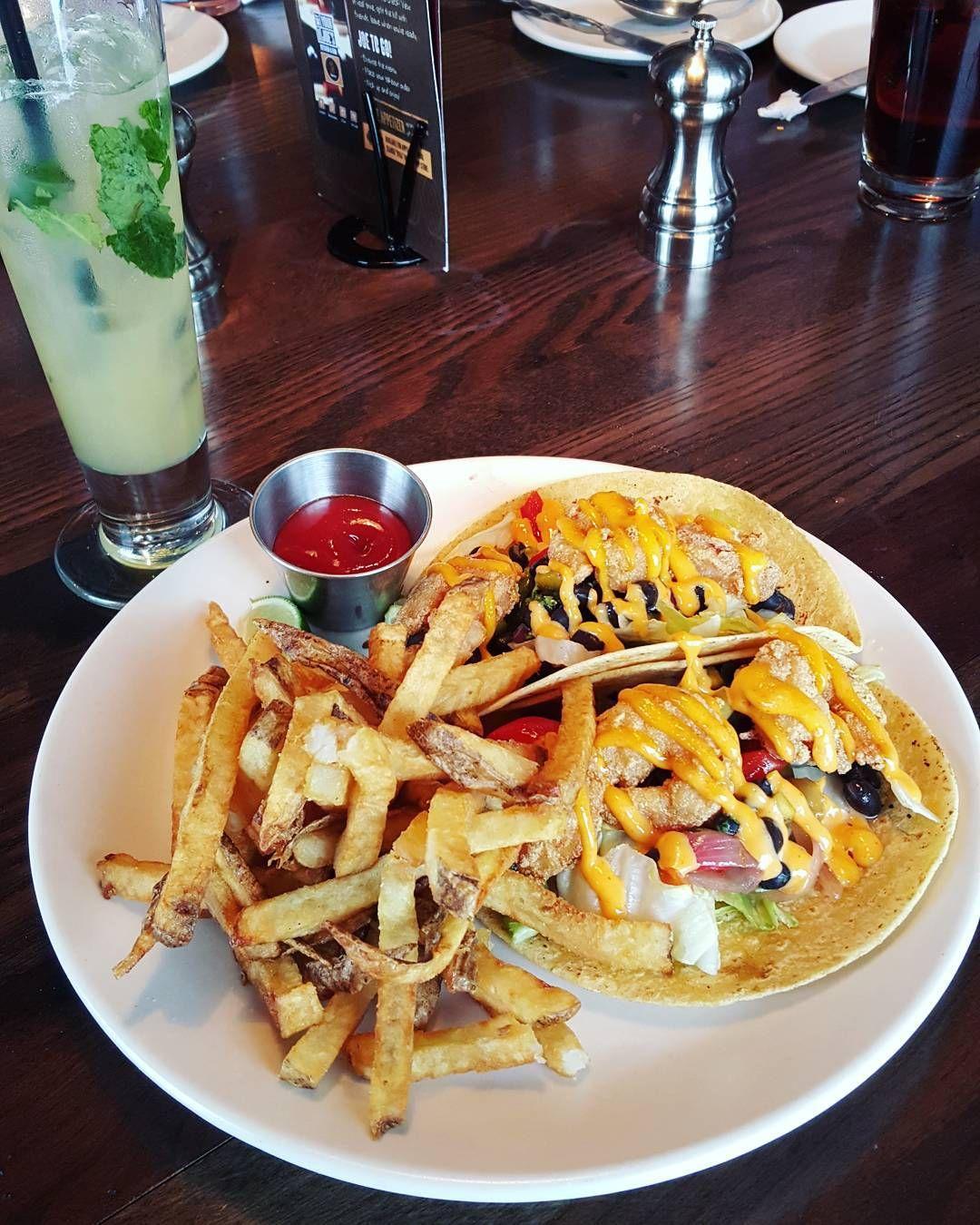 Shrimp tacos... my fav!