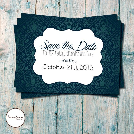 Save the Date \/ Wedding Invitation \/ Engagement Invitation \/ DIY - free engagement invitations