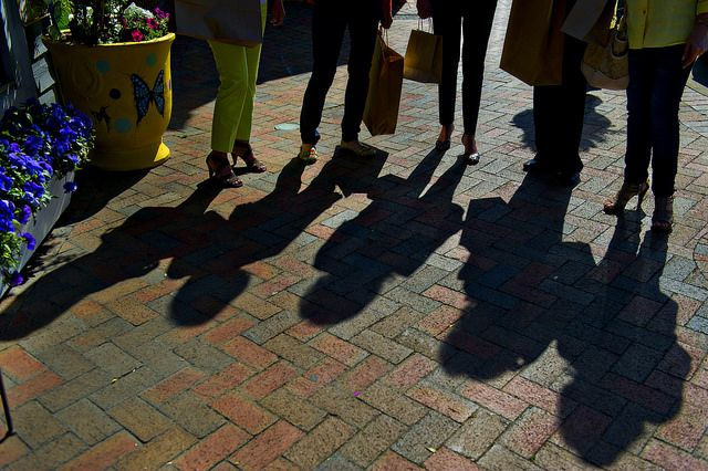 shadows on shadows in Awesome Alpharetta!
