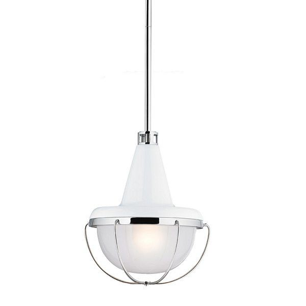 Buy Feiss Livingston Mini Pendant - P1306HGWPN - Authorized Dealer - Get Free Shipping & Interior Design Advice - Price Match