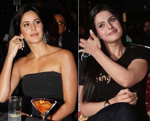 Do You Think There Is Similarity Between Bollywood Actress Zarinekhan Katrinakaif Bollywood Actress Strapless Top Zarine Khan