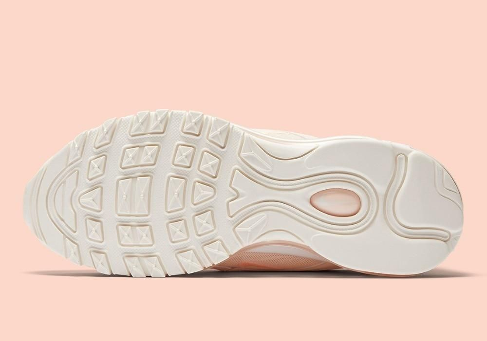 This Guava Ice Air Max 97 for the ladies is dressed