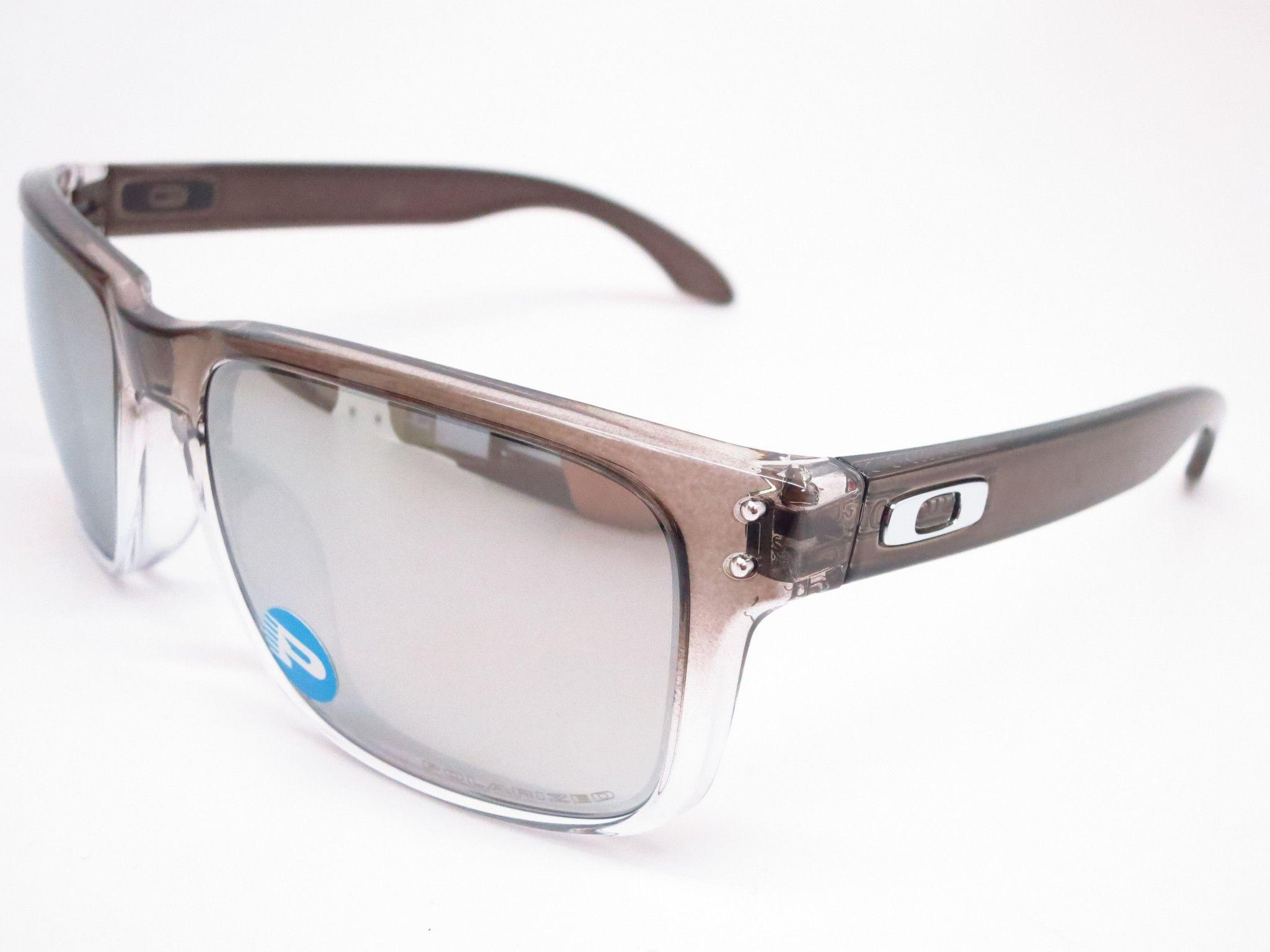 Oakley Holbrook OO9102-A9 Dark Ink Fade Polarized Sunglasses ...