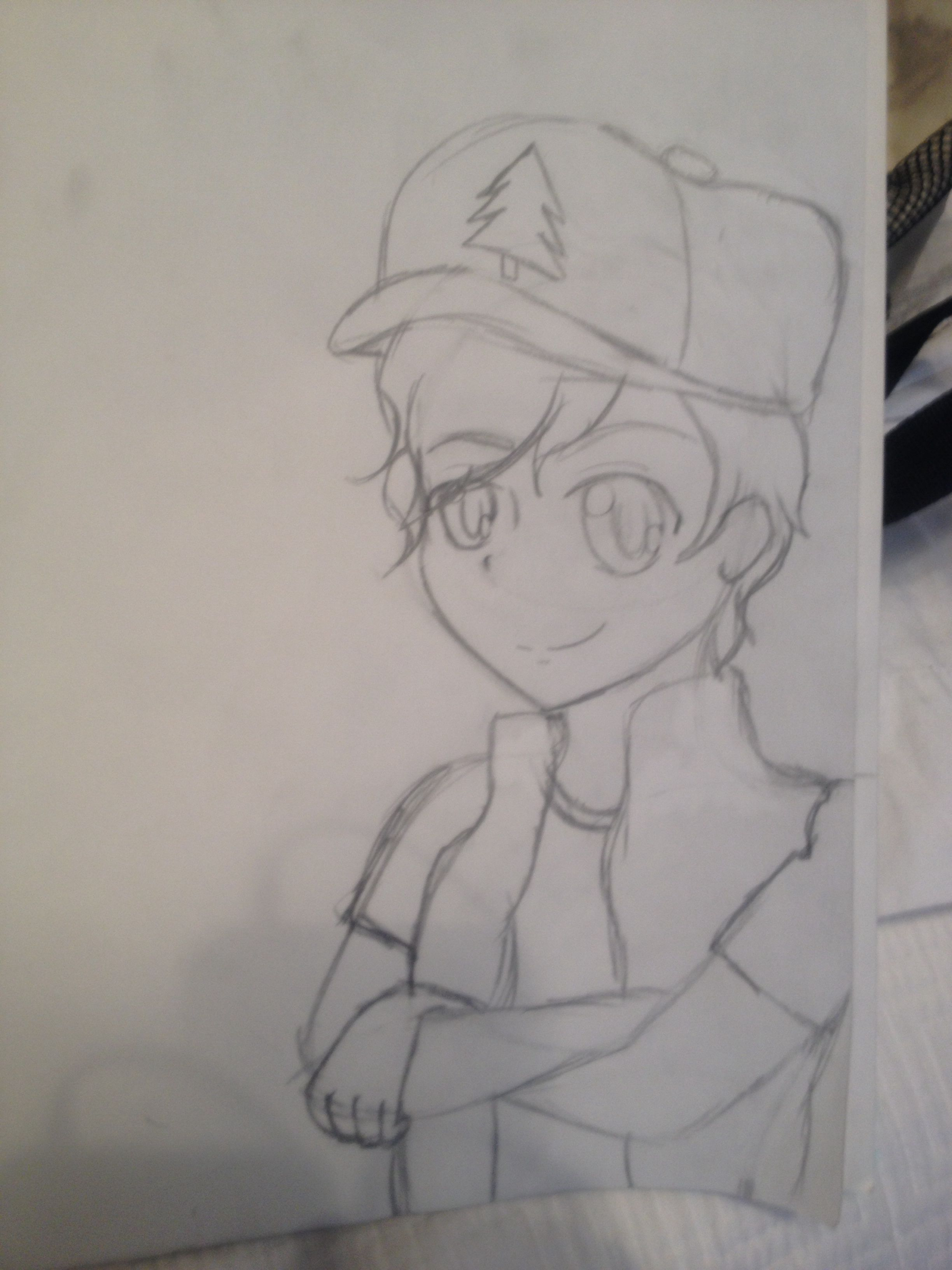 Anime Dipper so far. Requested by @sophiahickerson