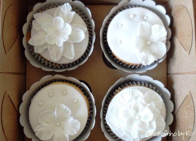 Cupcake Branquinho