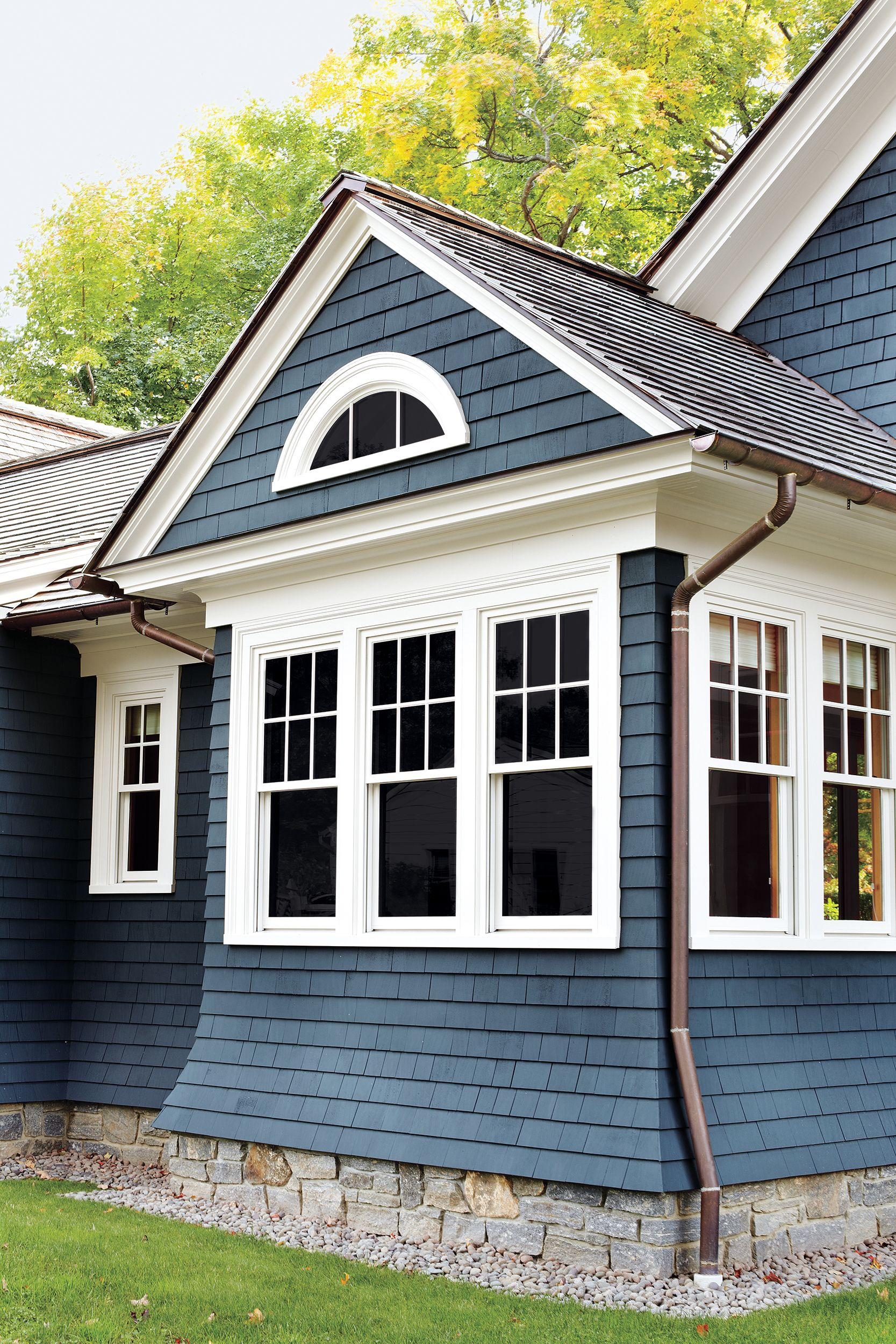 All About Gutters Facade House House Exterior Gutters