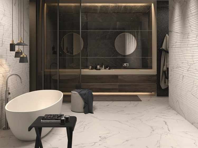 Wandfliesen Furs Bad 30 Moderne Fliesen Designs Und Trends Aus Italien Fliesen Design Moderne Fliesen Toilette Design