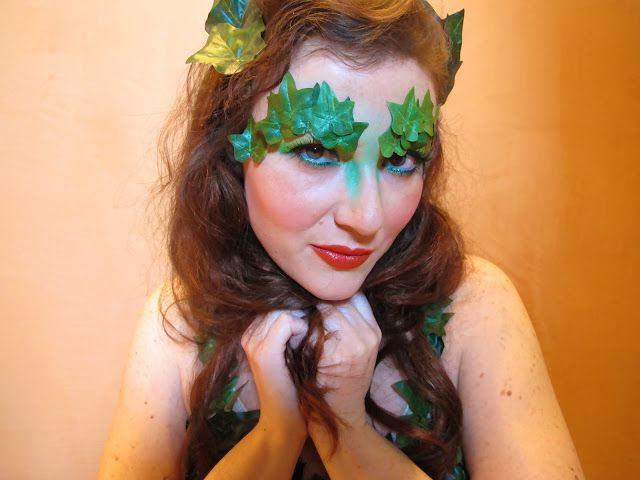 Poison Ivy Makeup - Inspired by  9ecd8cb52424