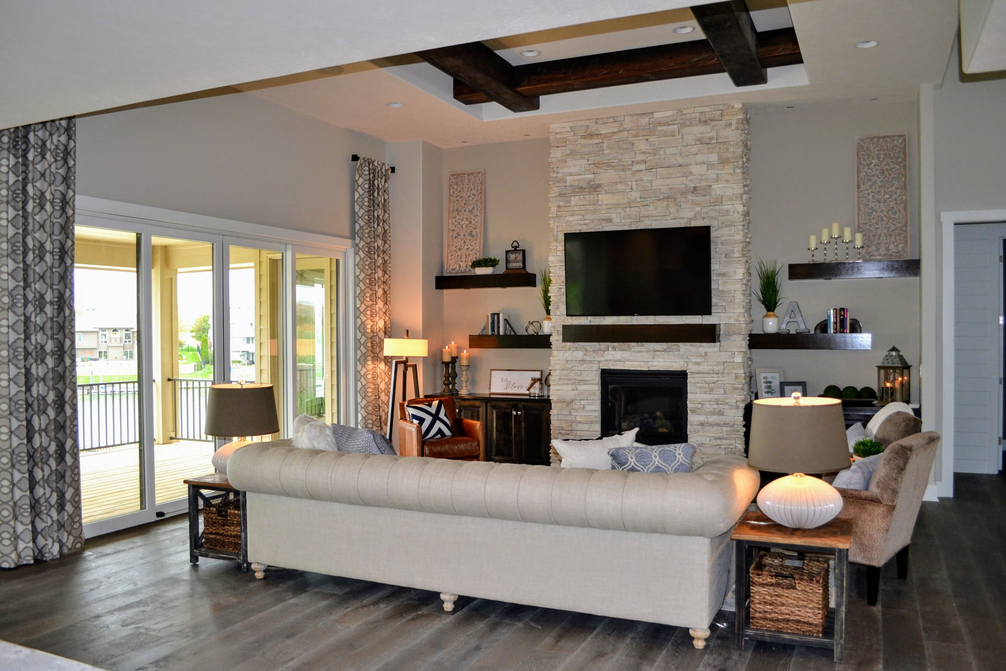 Best Modern Farmhouse Dream Home New Build Chesterfield Sofa 400 x 300