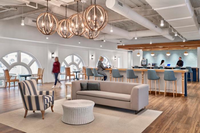 Wayfair Headquarters Boston Office Snapshots Interior