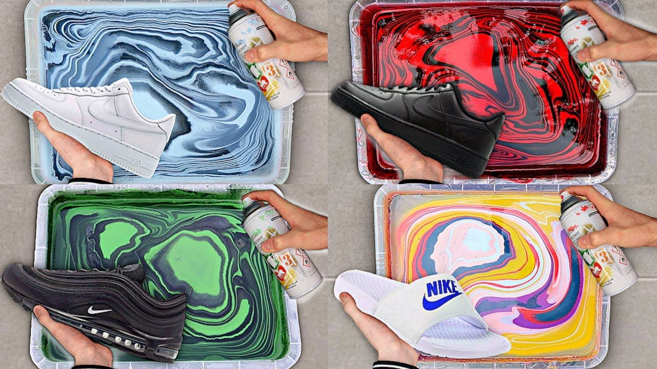 diy hydro dipping shoes